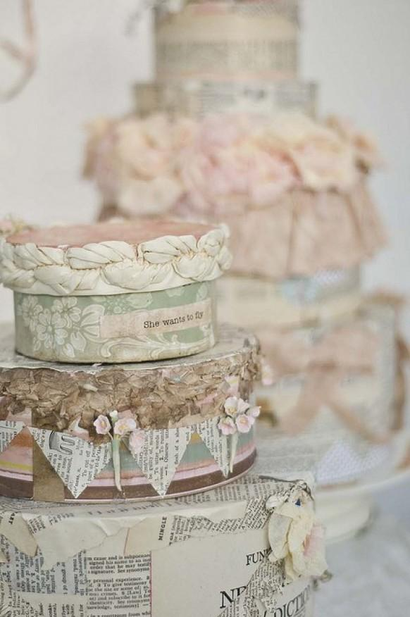 Vintage Wedding Cakes 1669053 Weddbook