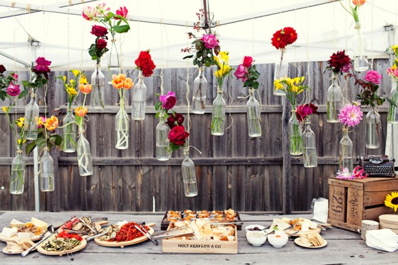 Flowers Decoration Ideas cheap and creative garden wedding decoration ideas ♥ colorful
