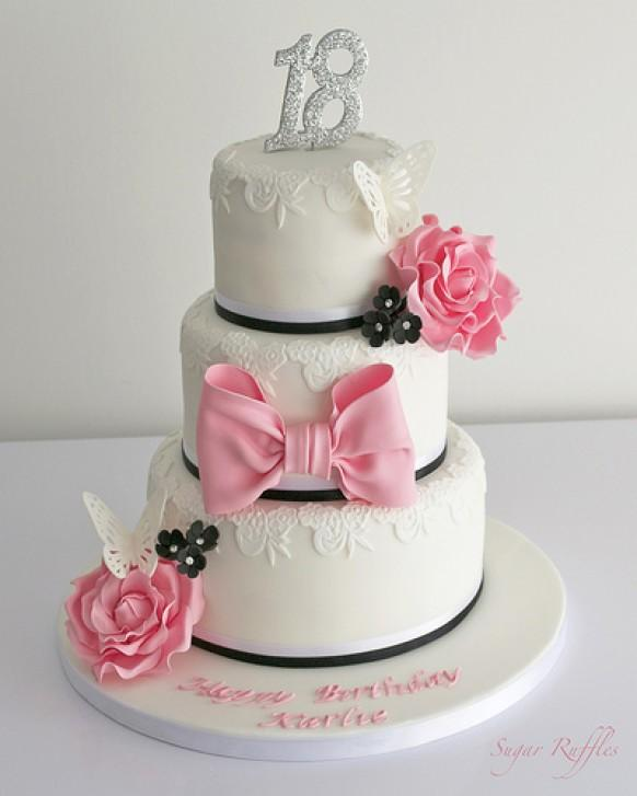 Wedding Cakes 18th Birthday Cake 1987644 Weddbook
