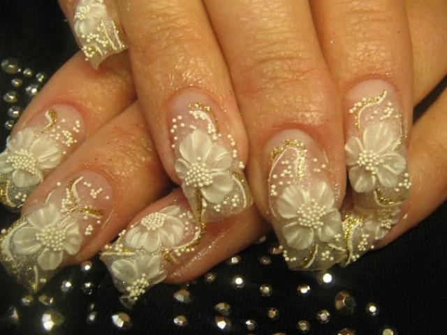Wedding Nail Designs - 19 Gorgeous Bridal Nail Ideas #2065124 - Weddbook