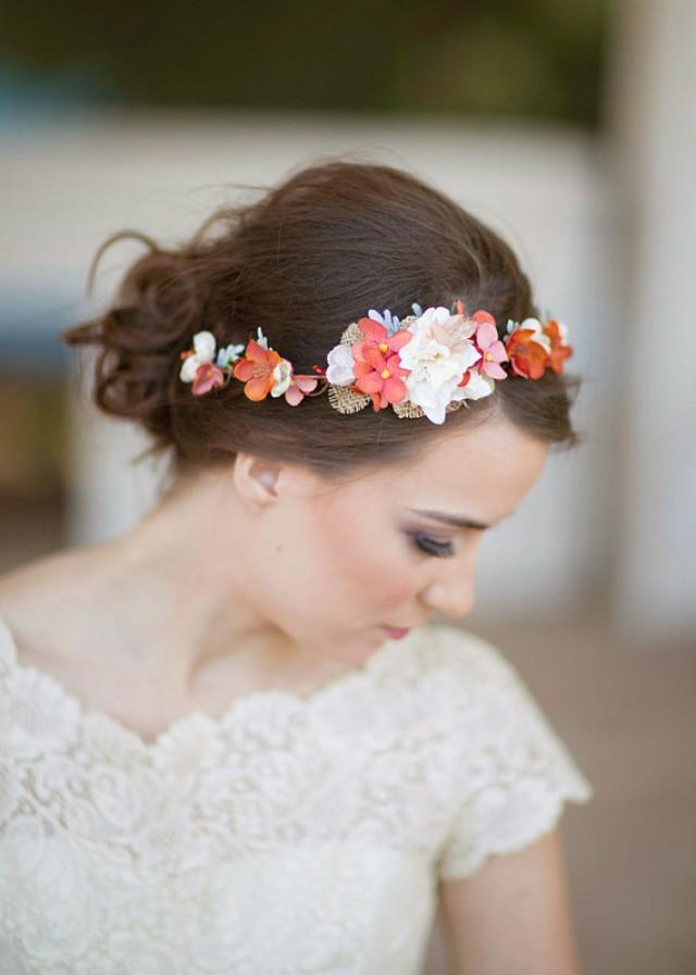 Autumn Wedding - Flower Girl Headband #2228578