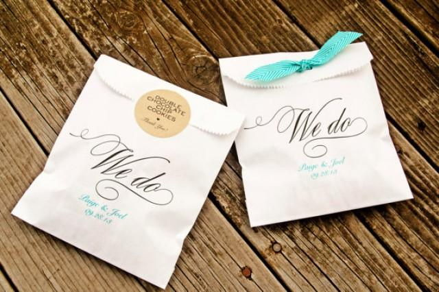 Wedding Favor Bags We Do Style Candy Buffet Bag Wax Lined 25 White In Each Pack New 2250716 Weddbook
