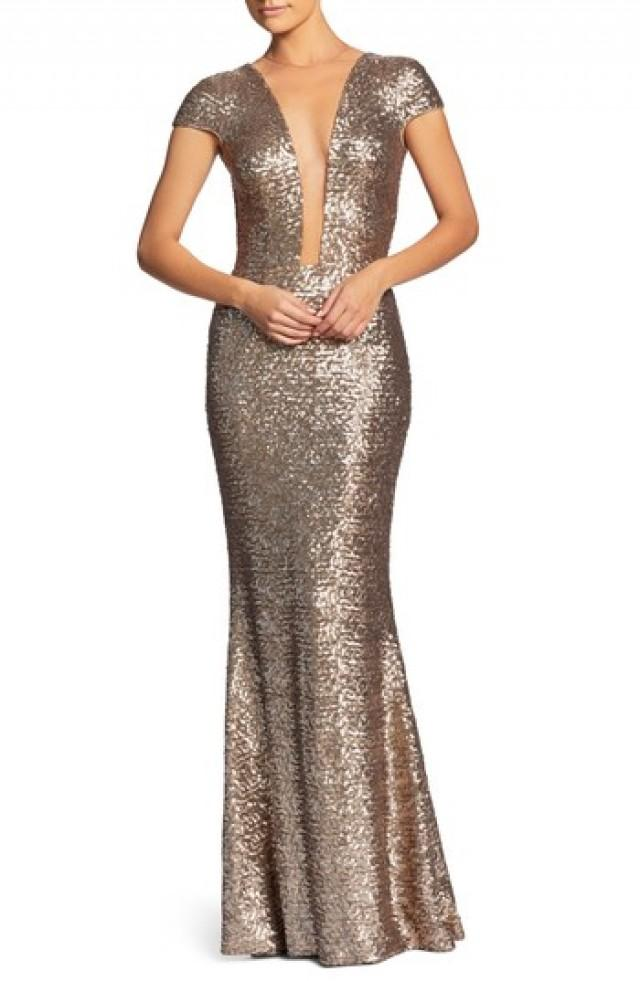 Dress The Population Michelle Sequin Gown (Nordstrom Exclusive ...