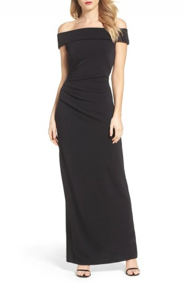Bridesmaid - Vince Camuto Off The Shoulder Gown #2842854 - Weddbook