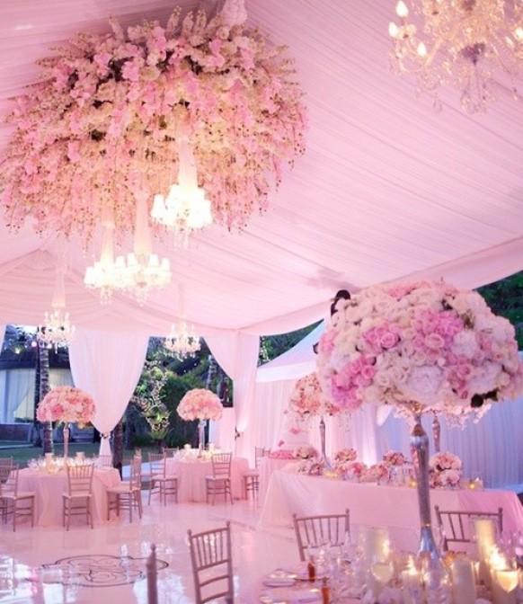 Pink Wedding Pale Pink Wedding Tables 798642 Weddbook