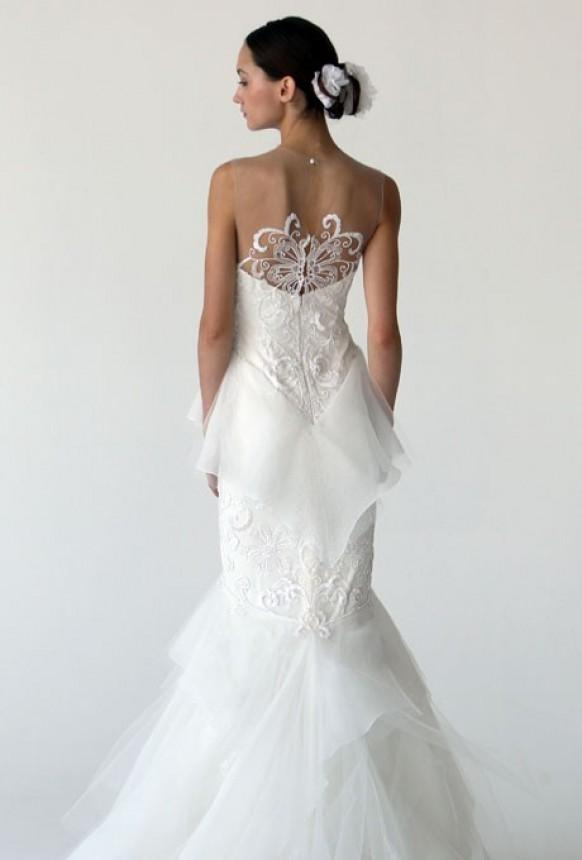 Couture inspired wedding gowns 800703 weddbook for Back necklace for wedding dress