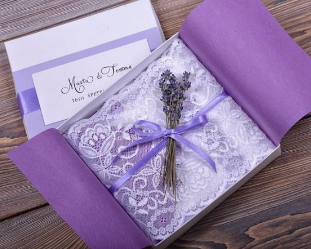 vintage lace wedding invitations custom listing 100 lace and lavender wedding invitation 8288